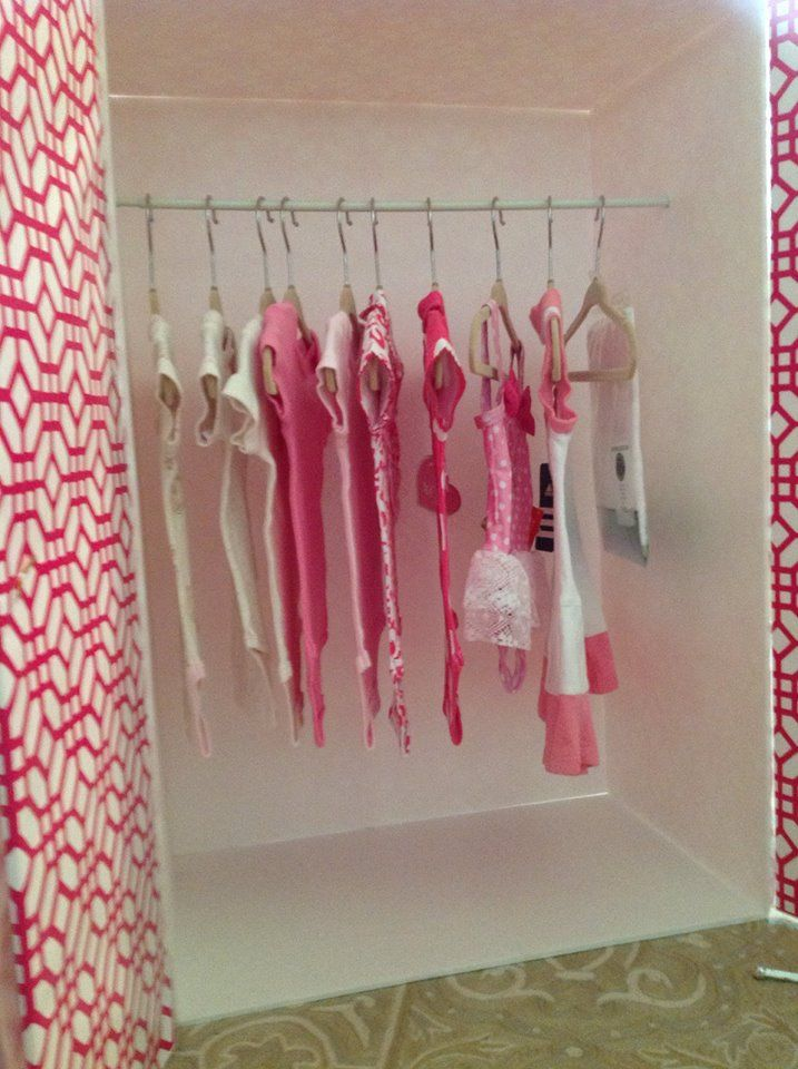 interior shot  of baby armoire