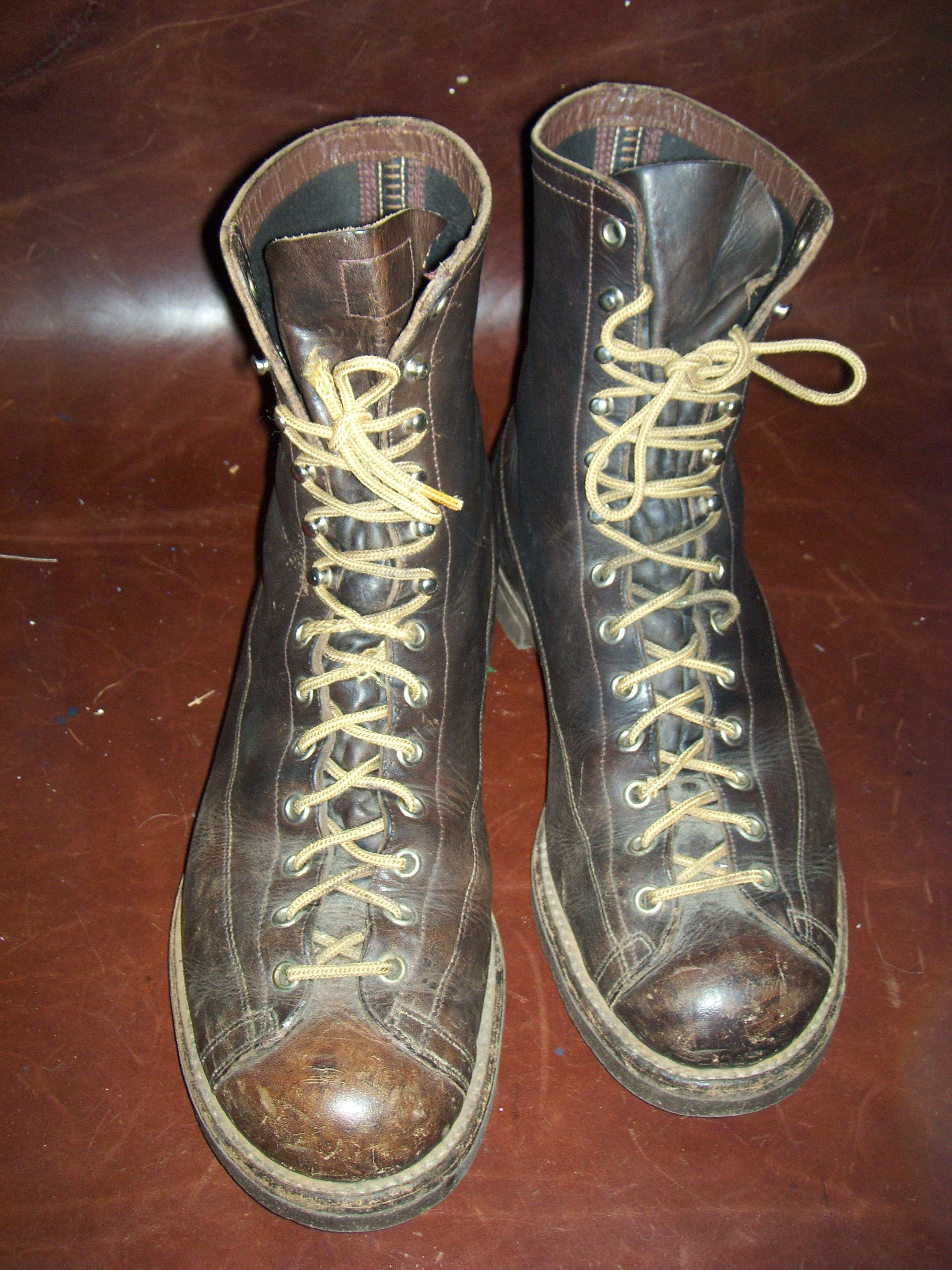 Vintage Red Wing Lace To Toe Boots Boots Vintage Boots Shoe Boots
