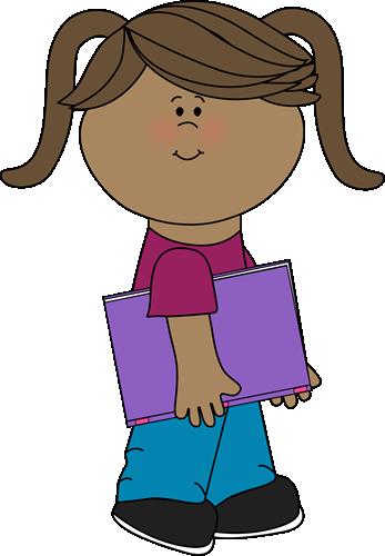 girl with a school book from mycutegraphics school kids clip art rh pinterest com school books clipart school books clipart
