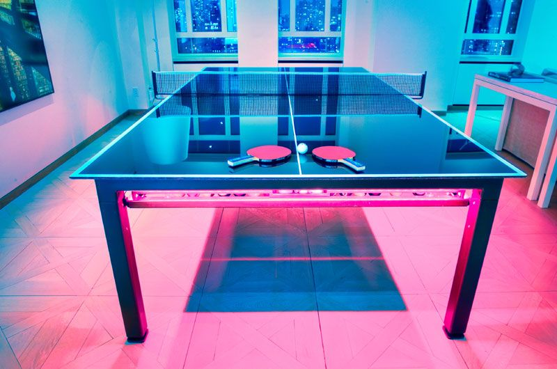 Glass Ping Pong Table Games Pinterest Products Ping