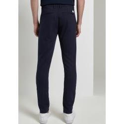 Photo of Tom Tailor Denim Men's Slim Chino Pants with Pinstripes, Blue, Size 34/30 Tom TailorTom Tailor