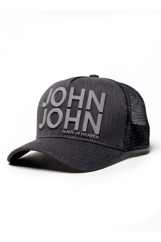 b97ed39bd6c9d BONÉ JOHN JOHN JJ ORIGINAL DENIM CINZA MASCULINO - BONE JJ ORIGINAL  DENIM-CINZA MEDIO