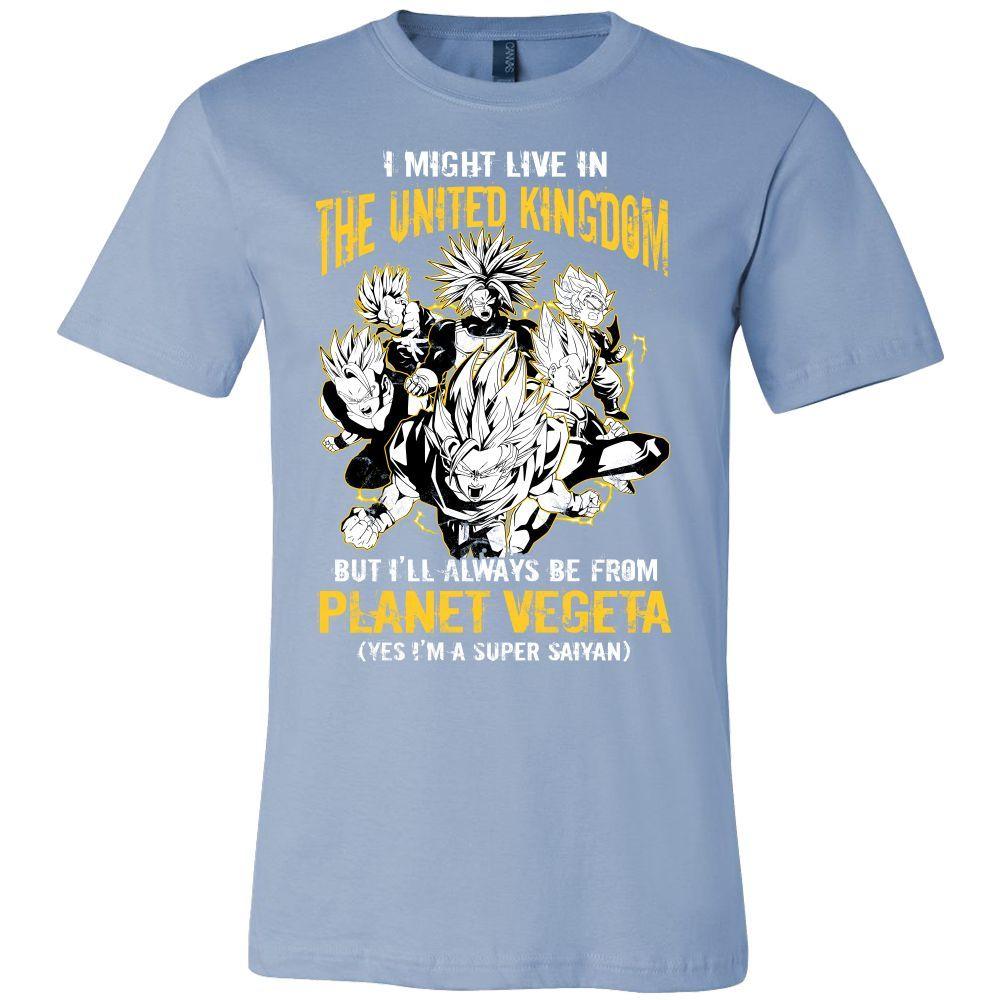Super Saiyan I May Live in United Kingdom Men Short Sleeve T Shirt - TL00111SS