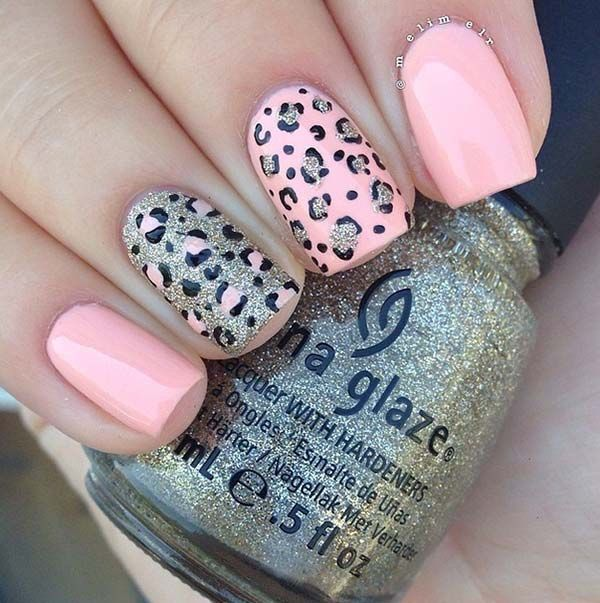 Rosaleopardo Leopard Nail Designs Leopard Nail Art