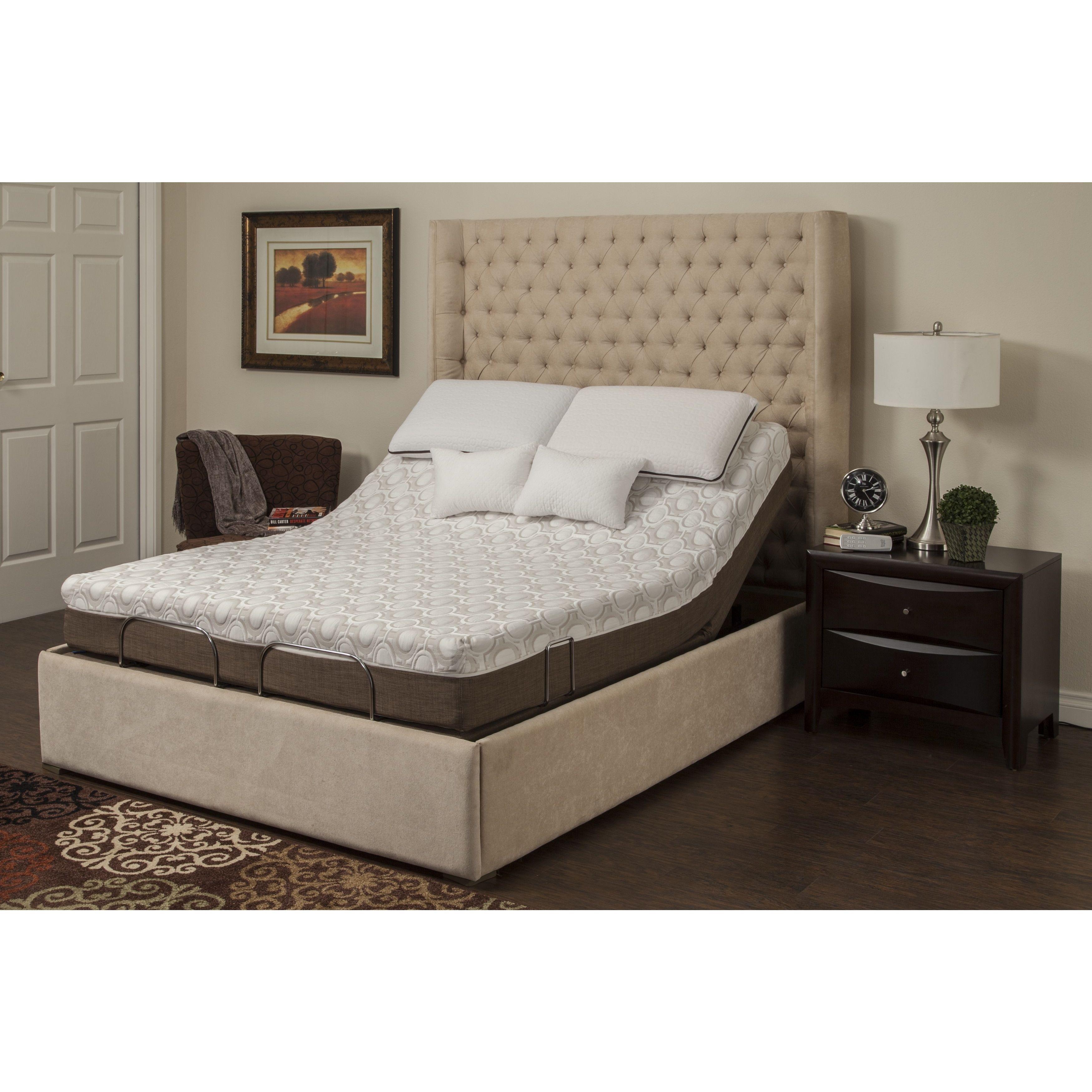 Sleep Zone Peony 10inch Twin XLsize Memory Foam Mattress