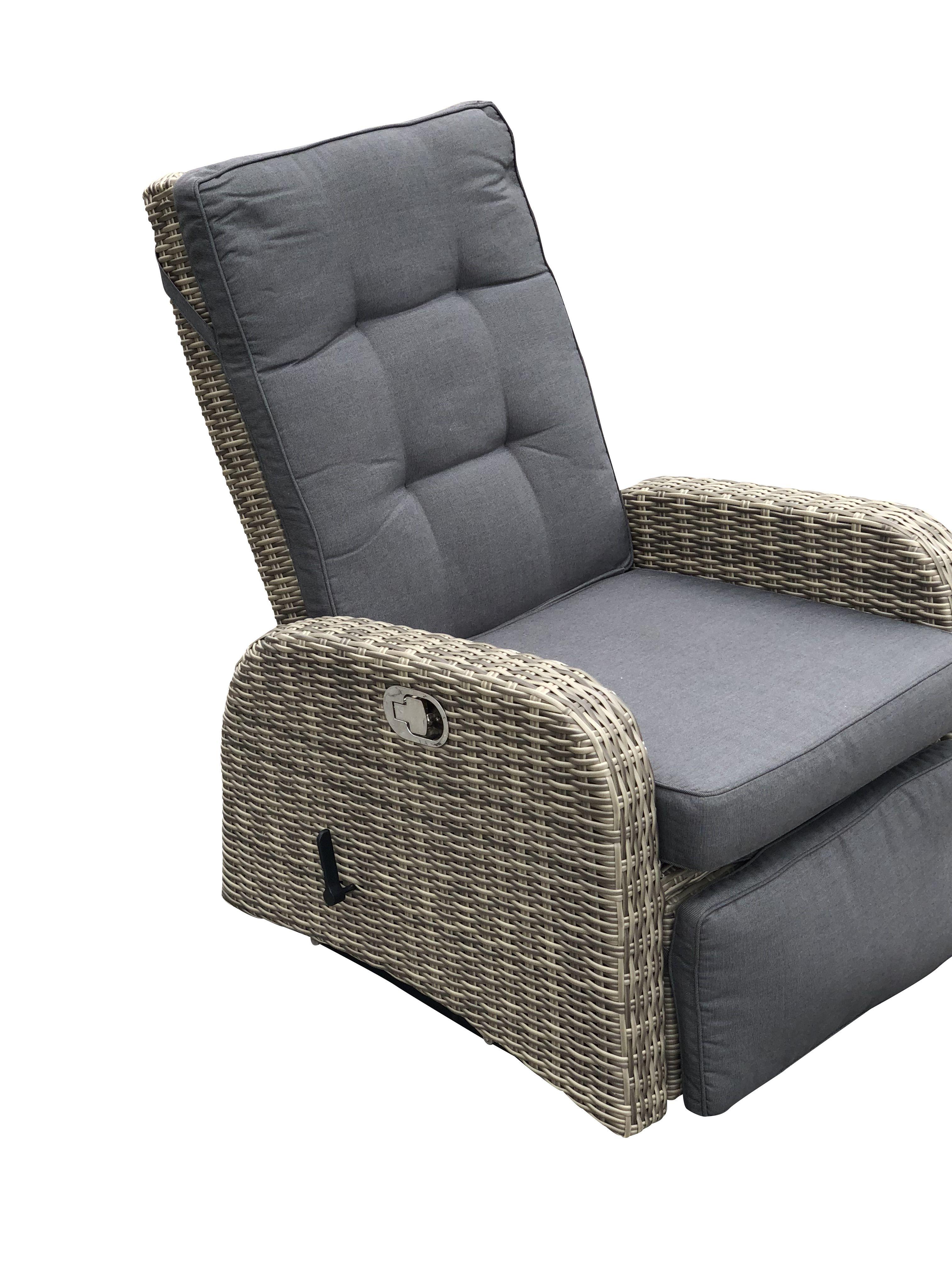 Faszinierend Sessel Mit Fußstütze Das Beste Von Vip Gartensessel Miami Fußstütze #gartensessel #gartenmöbel #polyrattan