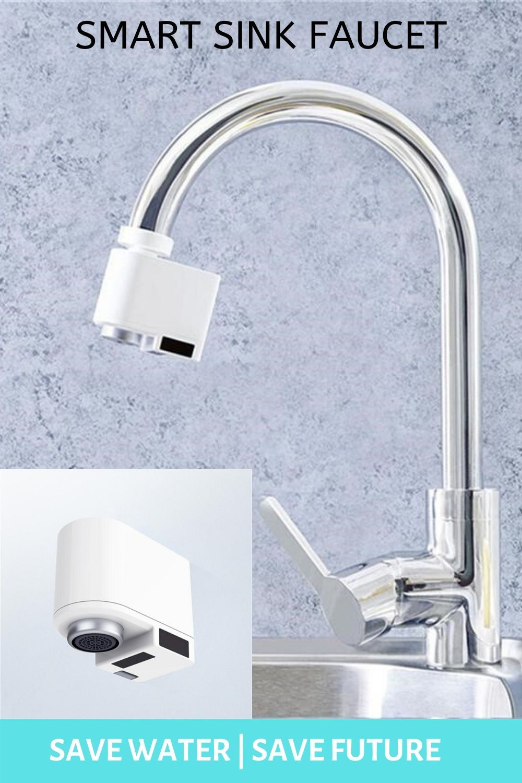 Water Saving Smart Sink Faucet In 2020 Sink Faucets Sink Faucet