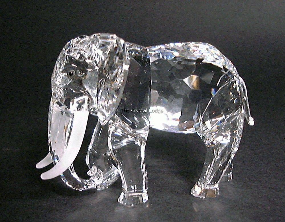 58e00a24b Swarovski SWAROVSKI ANNUAL EDITION 1993 ELEPHANT (African) 169970 -  DESIGNER SIGNED | Swarovski Crystal