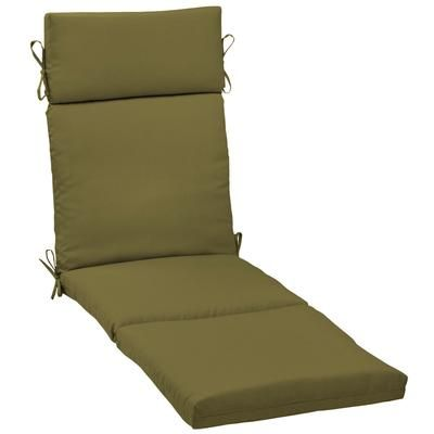 Pleasing Hampton Bay Olive Green Chaise Cushion Home Depot Canada Best Image Libraries Sapebelowcountryjoecom