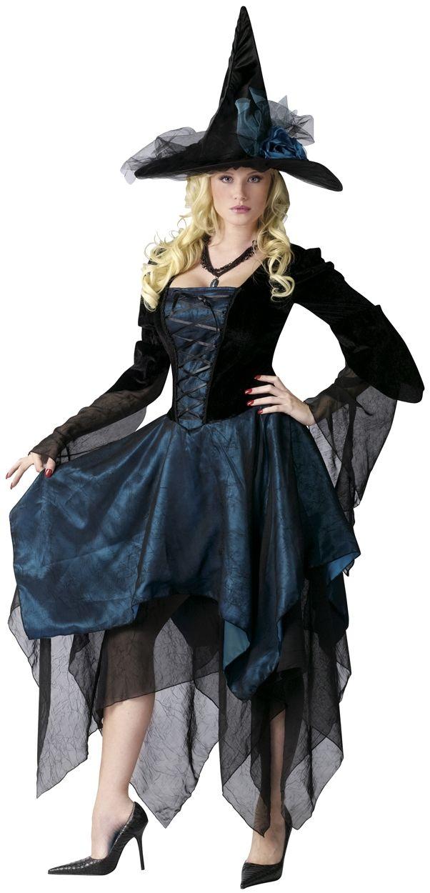 Beautiful Witch Halloween Costume