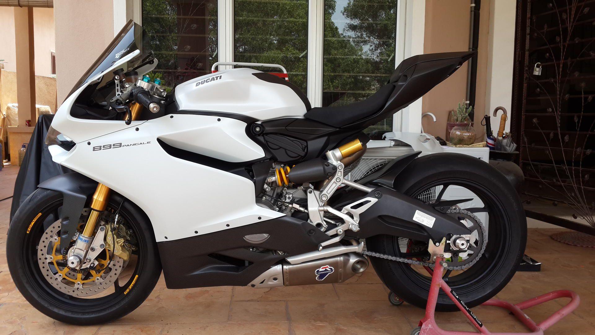 ducati 899 panigale white bike | custom motorcycles & classic