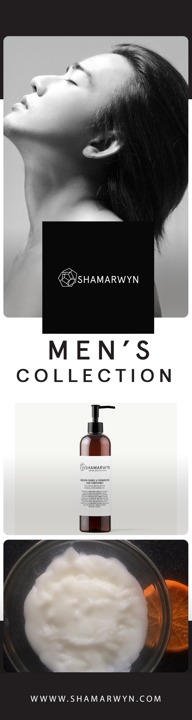 A sensational feeling! Natural Hair Products for Men.
