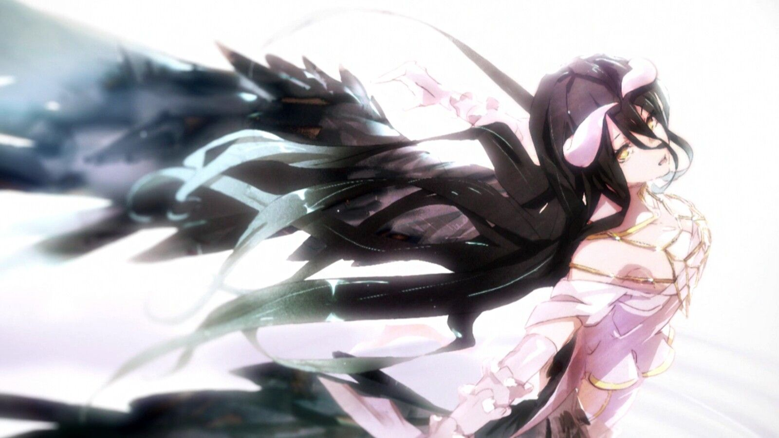 Crunchyroll Funimation anime Anime, Albedo, Anime fanart