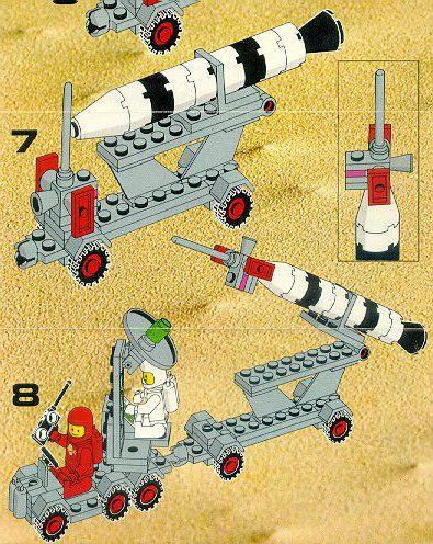 Old Lego Instructions Letsbuilditagain Cool Ideas