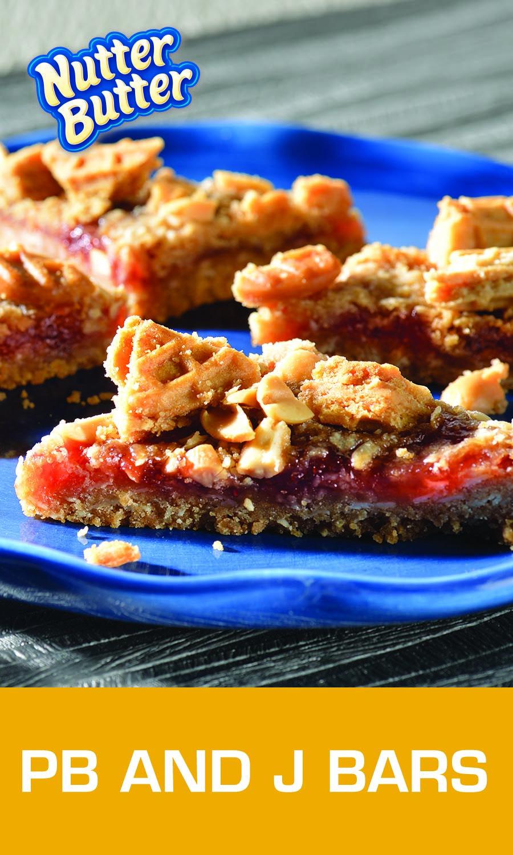 Pb And J Bars Recipe Food Food Recipes Food Processor Recipes