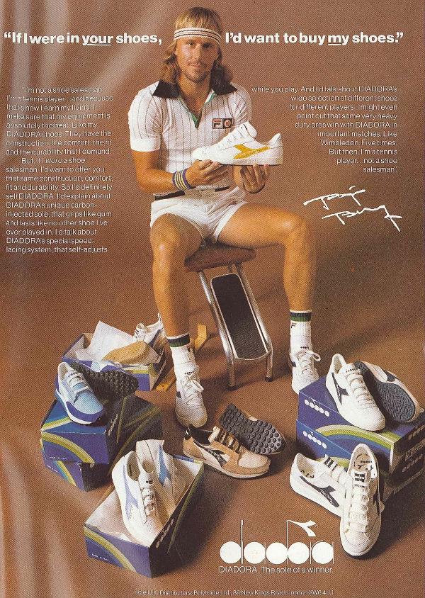 en 2020 Joueur de tennis, Mode des années