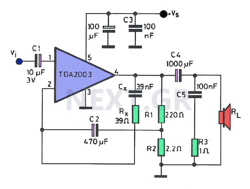 Brilliant Mini Audio Amplifier Circuit Electronic Circuits And Diagram Basic Wiring 101 Photwellnesstrialsorg