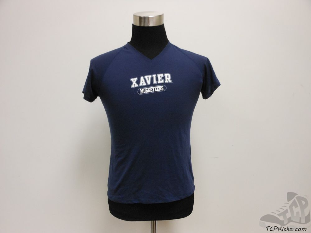 Womens Under Armour Xavier Musketeers Dri Fit Short Sleeve t Shirt sz L Large #UnderArmour #XavierMusketeers #tcpkickz