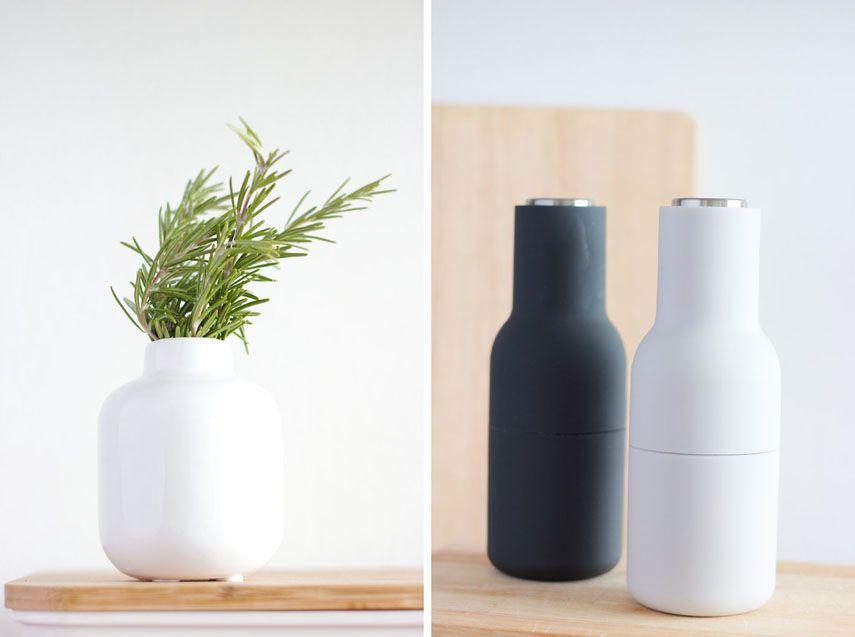 Ein gemalter Spruch und Deko für die Küche Deko, Bottle and Vase