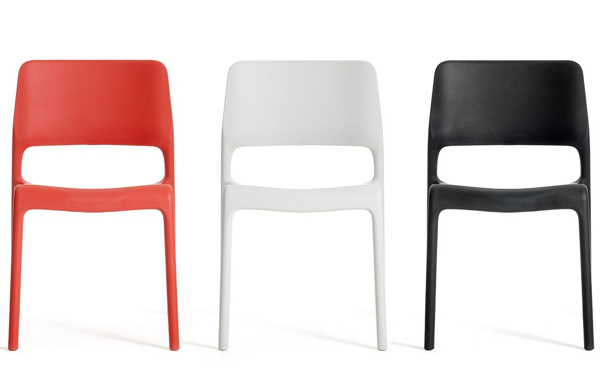 Spark Stacking Side Chair By Don Chadwick For Knoll