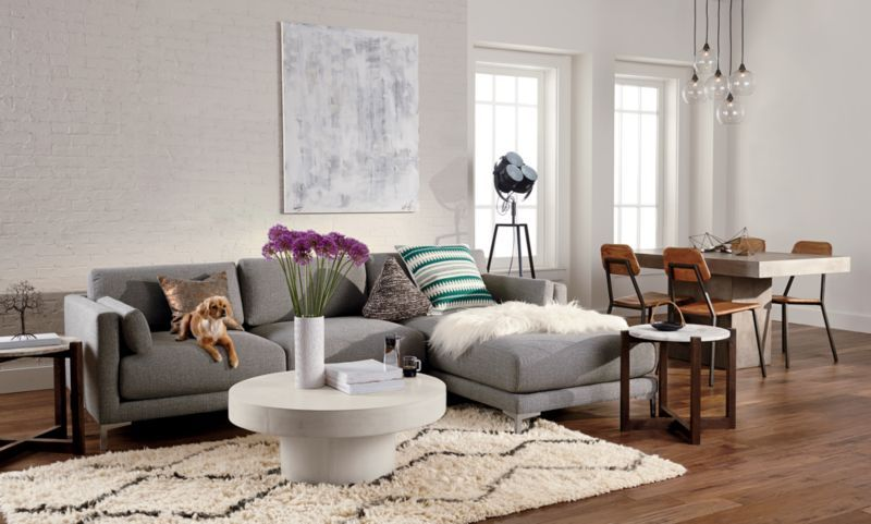 District 2 Piece Sectional Sofa Modern Sofa Sectional Living Room Furniture Sectionals