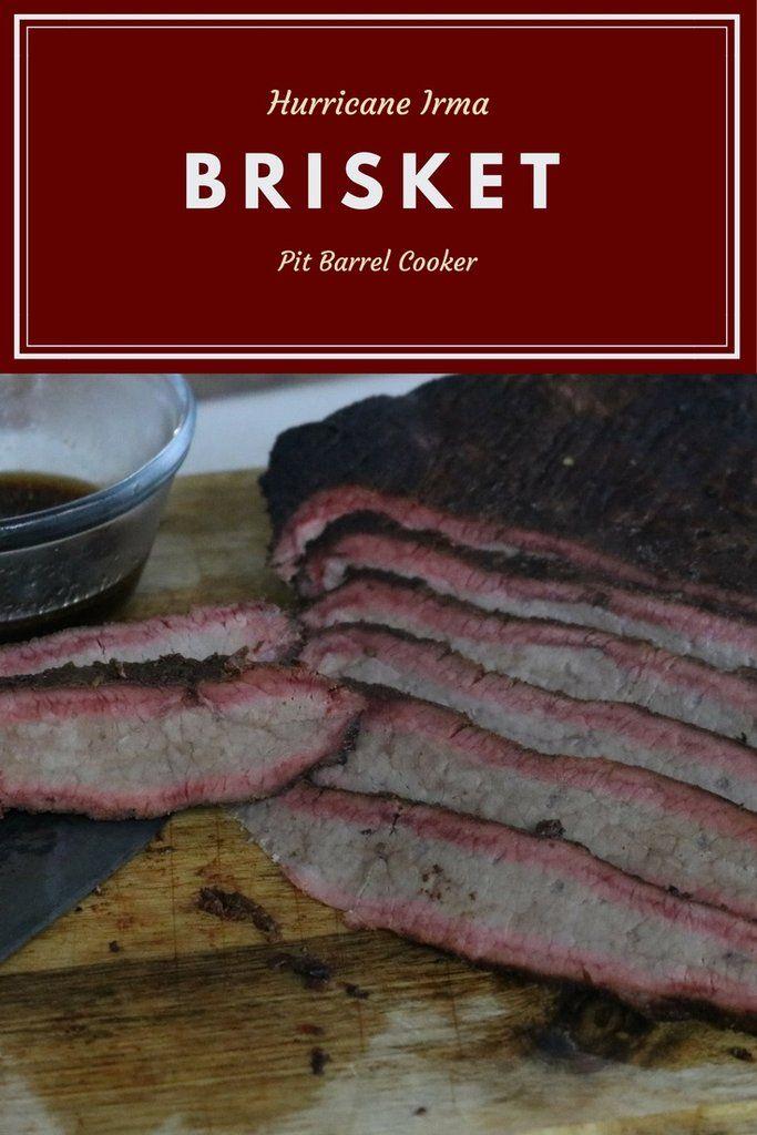 Brisket on the Pit Barrel Cooker