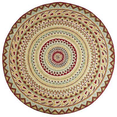 Fair Isle Red 6' Round Rug | Round rugs, Fair isles and Rounding