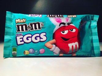 Malt M&M's Mini Eggs