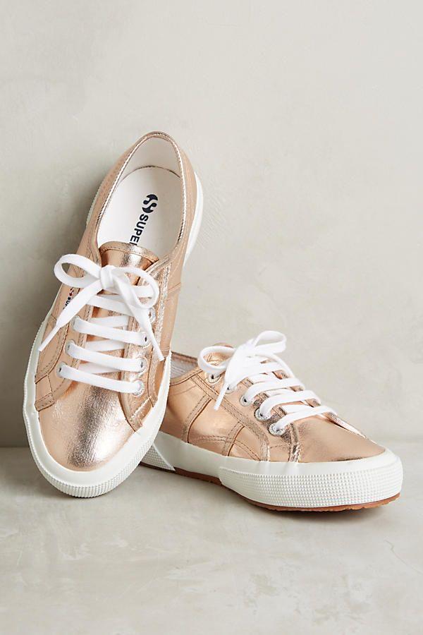 Superga Metallic Sneakers | Metallic