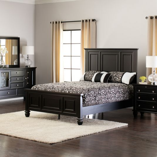 Sandy Beach Bedroom Collection  Black  Jerome's Furniture Home Entrancing Black Queen Bedroom Sets Inspiration