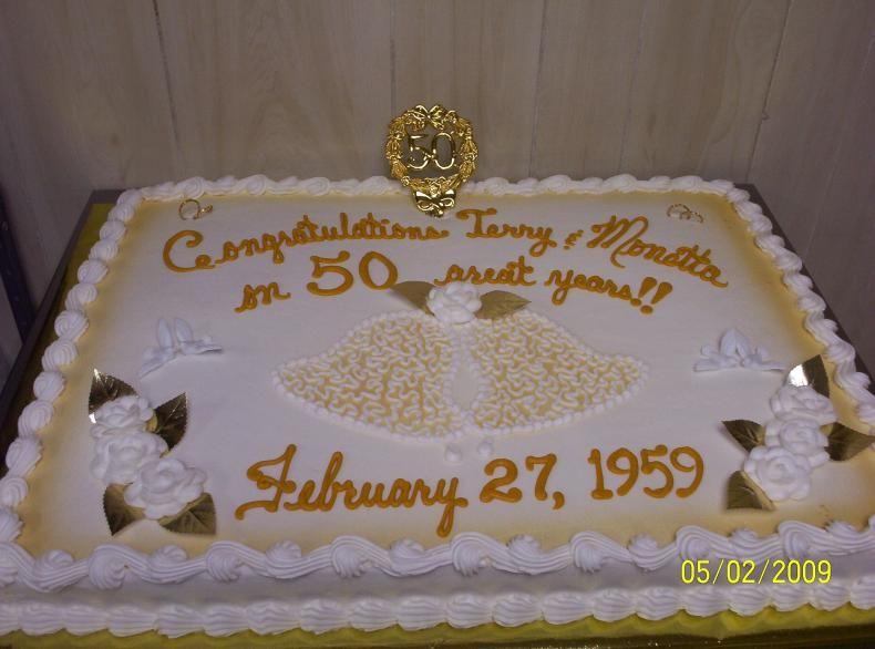 50th Wedding Anniversary Sheet Cakes Anniversary Cakes