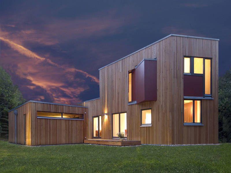 Holzhäuser Hamburg wohnhaus bei hamburg designerhaus palisadio nachhaltiges