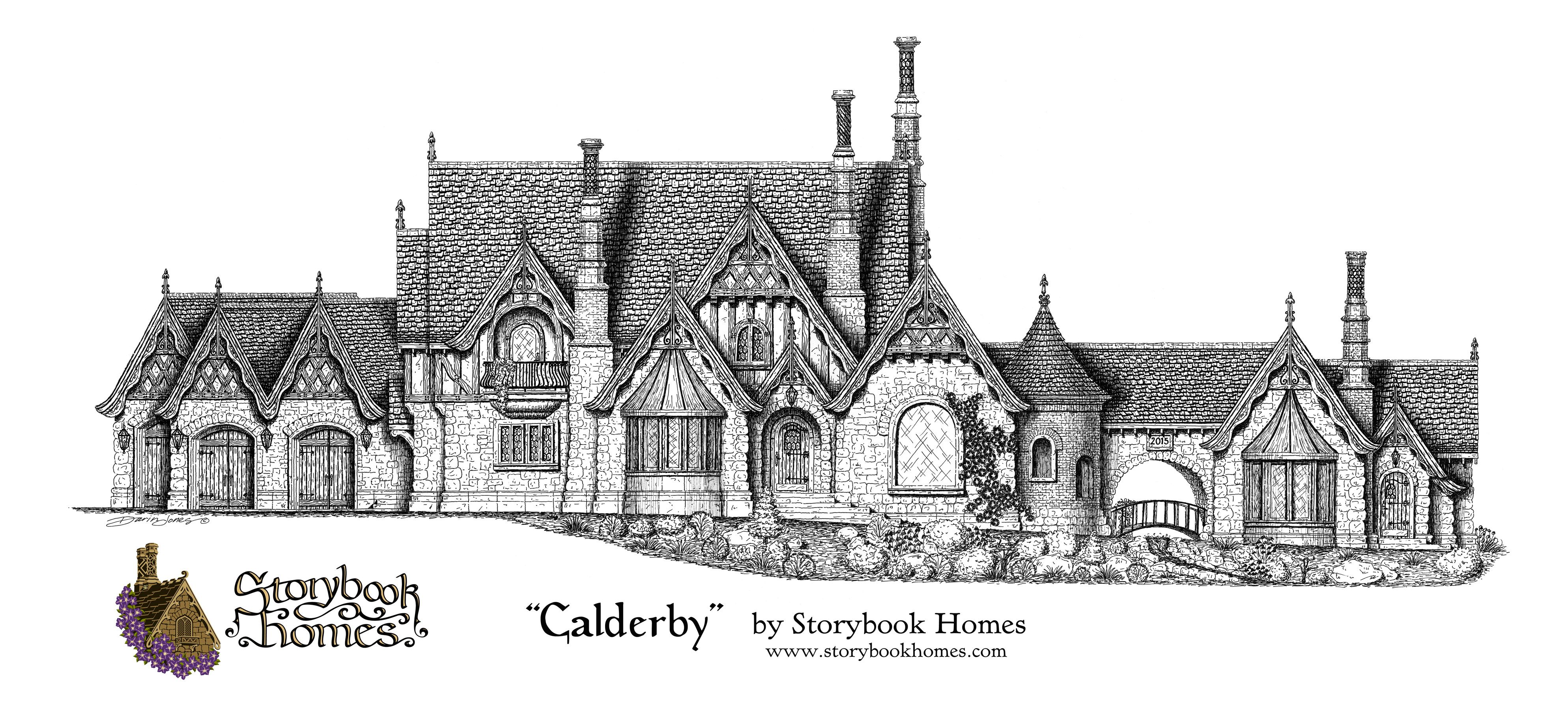 the calderby cottage by samuel hackwell of storybook