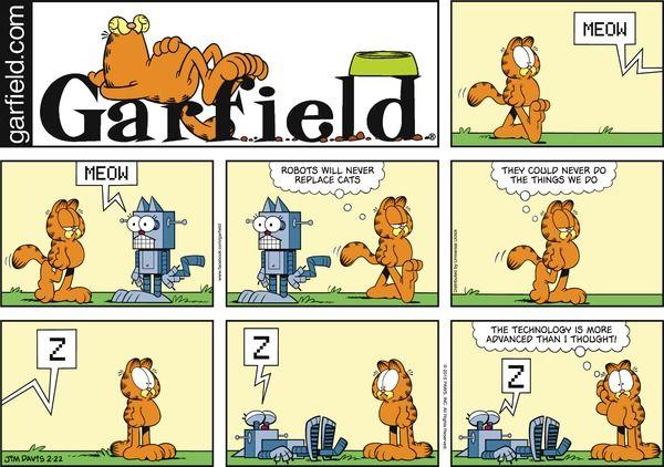 Garfield for Sunday February 22, 2015