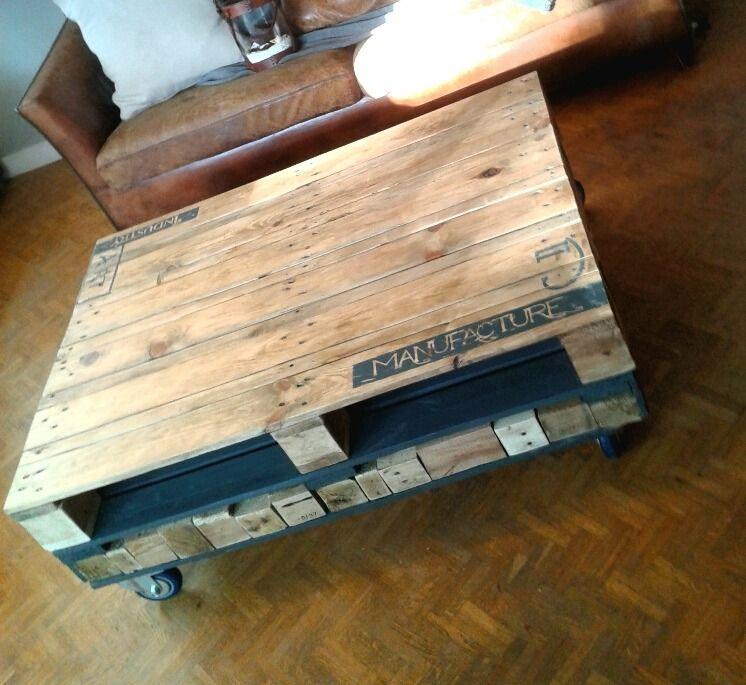 Marvelous Table Basse Palette Industrielle Vintage #13: Pinterest