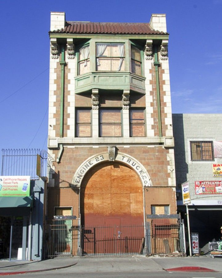 Abandoned Fire Station In Los Angeles