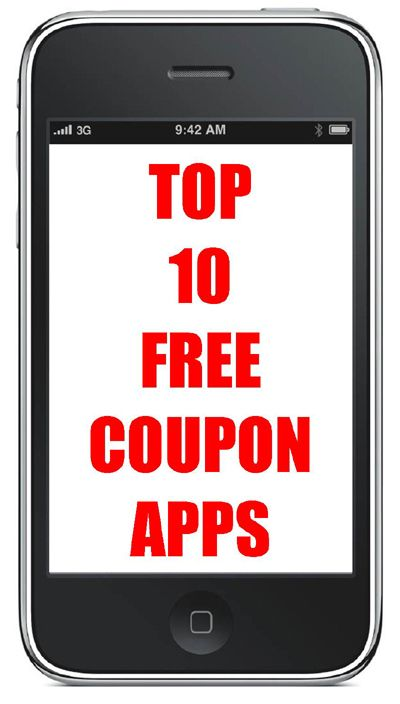FREE Coupon Apps Coupon apps