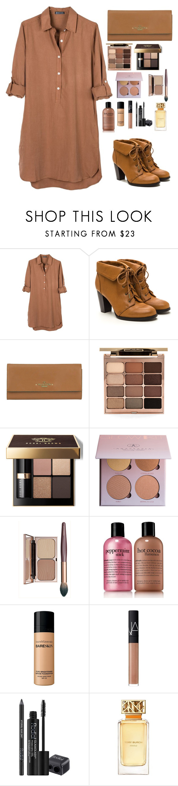 """""""86/1000"""" by nagra-muskan ❤ liked on Polyvore featuring United by Blue, Valentino, Stila, Bobbi Brown Cosmetics, philosophy, Bare Escentuals, NARS Cosmetics, Rodial and Tory Burch"""