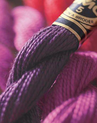 Irish Crochet Lab | DMC Pearl | Farby | Cotton, Fabric patch a Dmc floss