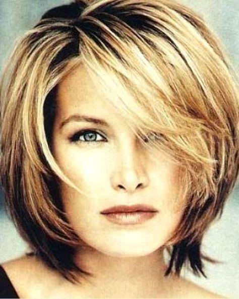 Short Hair With Double Chin Short Haircuts For Women Hair Lengths Short Hair Styles Medium Hair Styles