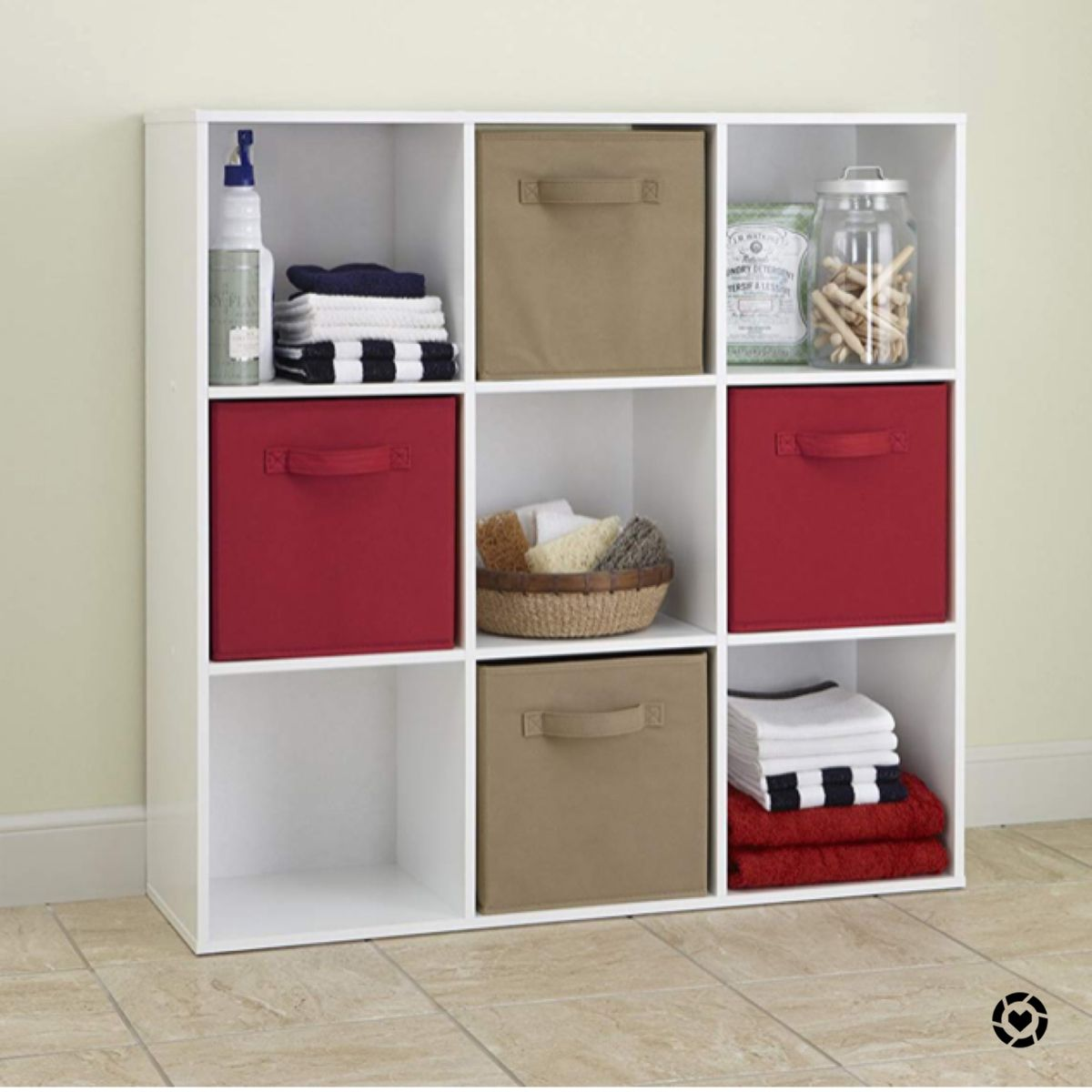 We Have One Of These In Each Of Our Kids Rooms Awesome Storage Storage Cubes Are On Sale Http In 2020 Ikea Cube Shelves Wood Storage Shelves White Wood Shelves