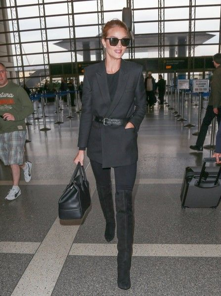Rosie Huntington-Whiteley Photos - Rosie Huntington-Whiteley Departs From LAX - Zimbio