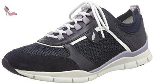 Omaya A, Sneakers Basses Femme, Noir (Blackc9999), 42 EUGeox
