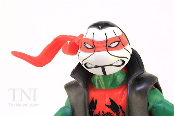 TMNT WWE Raphael as Sting Ninja Superstars Turtles Action Figure Video Review & Images