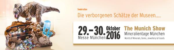 #MunichShow - #Mineralientage #München Weltweit größte zusammenhängende #Messe für #Mineralien, #Fossilien und #Edelsteine http://bit.ly/2d3SrrZ