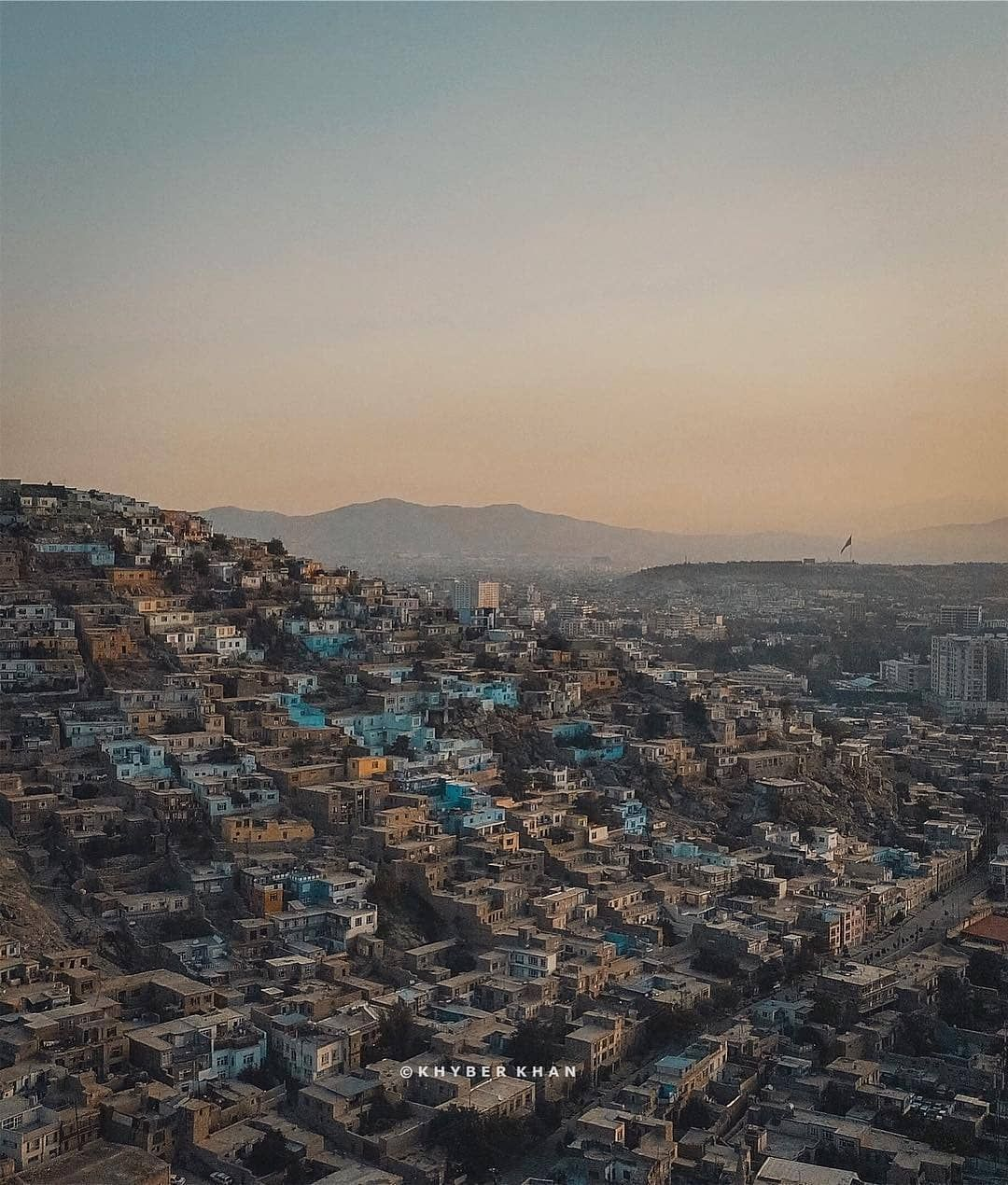 Almost All The Hills Across Kabul City Are Full Of Houses Built By Needy And Lower Income Residents In Recent Years Kabul Municip City Natural Landmarks Photo