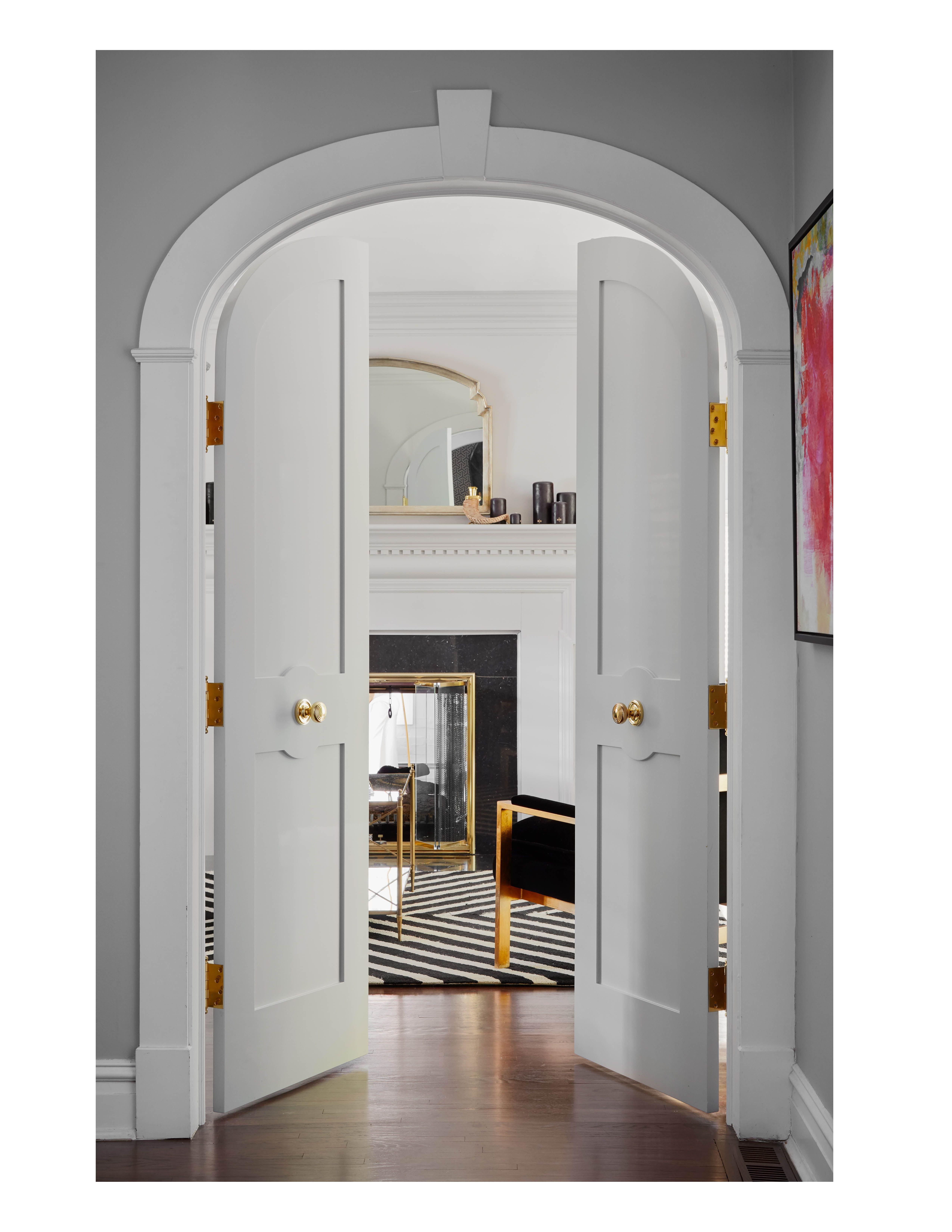 Wilmette Modern Hallway