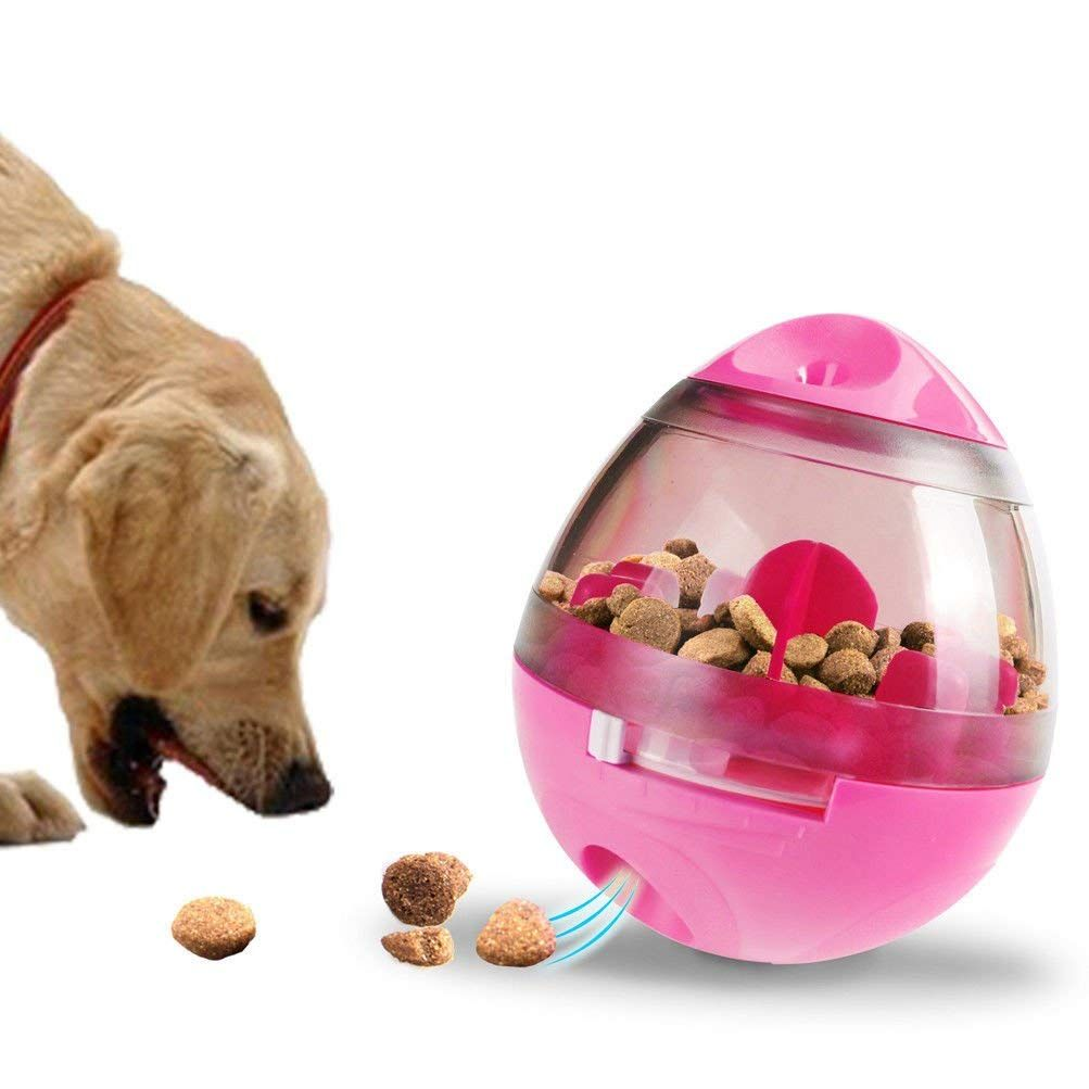 Lyz Interactive Pet Dog Treat Dispensing Food Feeder Cat Puppy