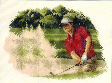 Golf - Cross Stitch Patterns & Kits - 123Stitch com | my