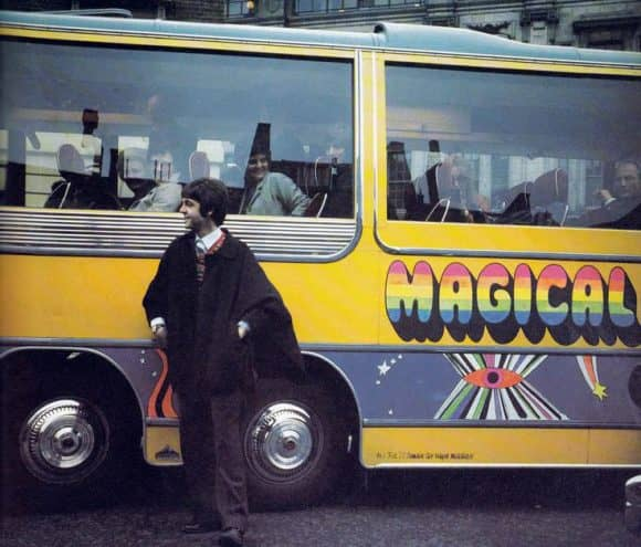 Filming Magical Mystery Tour The Beatles Bible The Magical Mystery Tour The Beatles Story Beatles Magical Mystery Tour